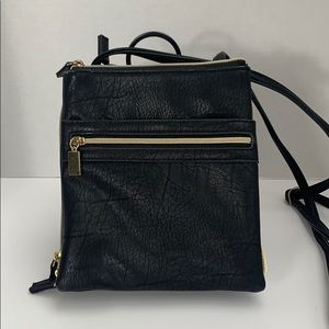 Slim Crossbody Bag with lots of storage. NWOT